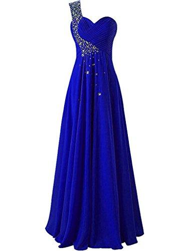 JAEDEN - Robe - Trapèze - Sans Manche - Femme Bleu roi