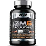 Iron Labs Nutrition, ZM6 Xtreme - High in Zinc & Magnesium which support normal Testosterone Levels, Muscle Function and Electrolyte Balance - 180 Vegetarian Capsules