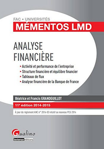 Analyse financière, 11ème Ed