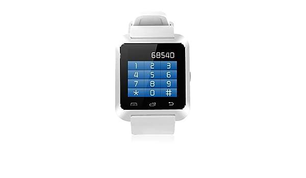 Imperii Electronics Te.03,0060,02 Bluetooth Smartwatch- Blanc: Amazon.fr: Montres