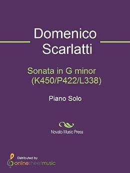 Sonata in G minor    (K450/P422/L338) by [Scarlatti, Domenico]