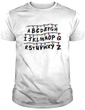 Camiseta de Mujer Stranger Things Serie Retro TV 80 ABC