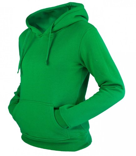 Urban Classics Ladies Sweats à capuche C.Green Limegreen