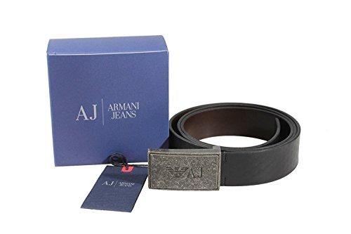 Cintura uomo Armani Jeans A6465 W2 NERO