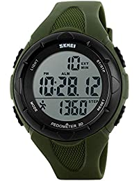 Buy Cheap Sports Watches Men Pedometer Calories Digital Watch Women Altimeter Barometer Compass Thermometer Weather Reloj Hombre Skmei Soft And Light Watches Digital Watches