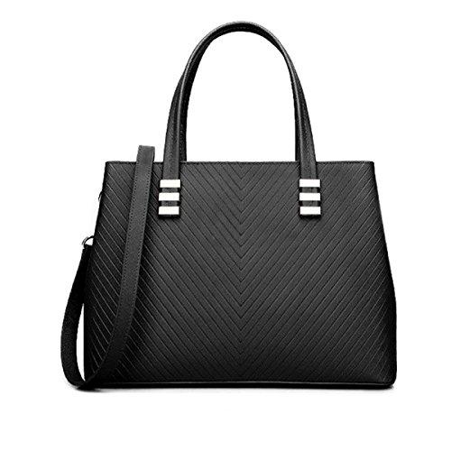 Damen Schultertasche Kuriertasche Handtasche Cortex V Muster Leder Edle Elegante Einfache Handtaschen Mode Handtasche C