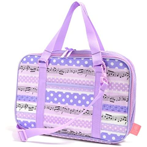 Polka dots popping gioco melodia ritmo Bambini calligrafia, calligrafia set di Kuretake valutazione sullo stile (lavanda) realizzati in Giappone N2209710 (japan import)