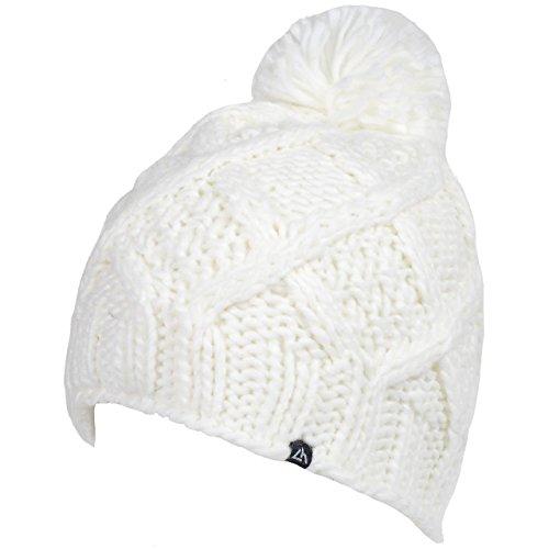 sports-depot-selection-mirabelle-blanc-bonnet-l-bonnet-a-pompon-blanc-taille-unique