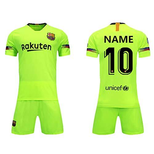 WANG YIBO Kundengebundene Fußballuniformen und -kurzschlüsse Fußball entspricht neuen Jahreszeit personalisierten Fußballuniformen für Kindererwachsene jugendlich Jungengewohnheitsnamen und -Zahlen