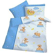 Winter Warm Biber Bettwäsche Teddy Bär Bären Baby-Bettwäsche 100x135 cm
