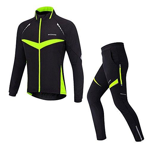 WOLFBIKE Fahrrad Jacke Jersey Weste Wind Coat Windbreaker Jacke Outdoor Sportswear