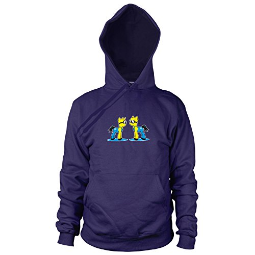 (My little Bananas - Herren Hooded Sweater, Größe: XL, dunkelblau)