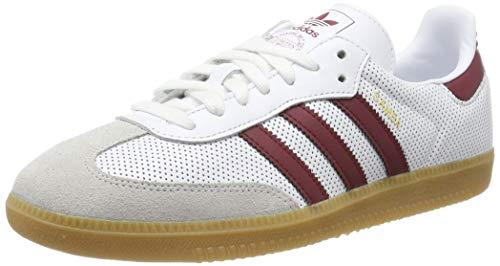adidas Samba Og, Scarpe Running Uomo, Multicolore (Ftwwht/Cburgu/Greone Bd7528), 46 EU