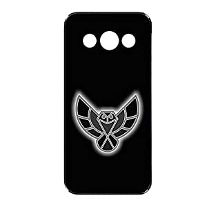 Vibhar printed case back cover for Samsung Galaxy Core GreyOwls
