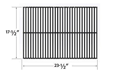 Bar.B.Q.S 95301 Porzellan beschichteter Stahldraht Felsenrost Ersatz für Gasgrill Modell Turbo 3-flammiger Sterling / Schäfer: 2110, 2200, 2210, 222 ...