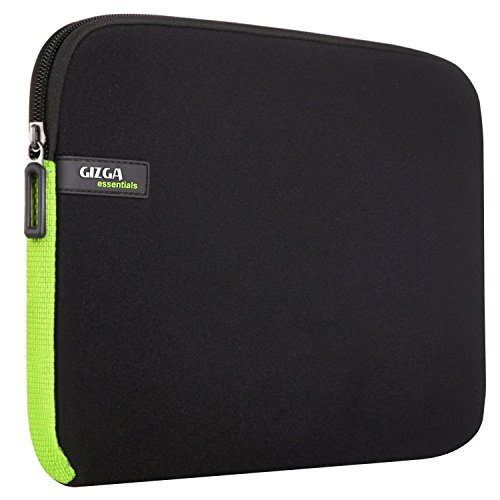 Laptop Case, GIZGA 14-14.1 Inch Sleeve Cover Carry Protection for HP SlateBook Thinkpad Lenovo Yoga 500 700 Acer Aspire Toshiba Satellite HP Dell Notebook Computer Chromebook (Black Green)