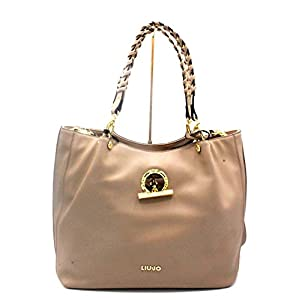 BORSA LIU JO FLORIDA SHOPPING BAG A18057 E0007 NOCCIOLA