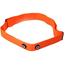 Soft Strap Ersatz Brustgurt passend für Polar Wearlink H1 H2 H3 H7 H10 Garmin