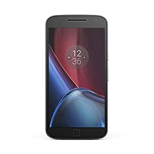 Motorola Moto G4 Plus XT1644 16GB SIM-Free Smartphone (Single SIM) - Black (Exclusive to Amazon)