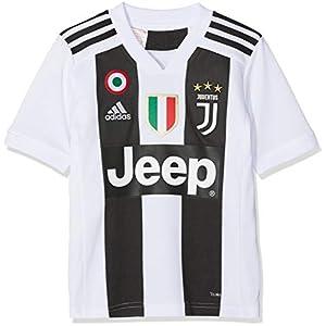 adidas Juve H JSY Y, Maglia Gara Home 2018/2019 Cristiano Ronaldo, Bambino 6 spesavip