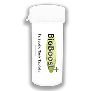 tratamiento fosas septicas: Tabletas de bacterias para fosas sépticas - Suministro para un año