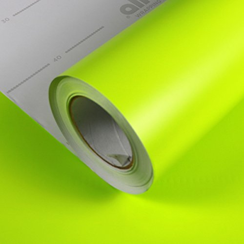 Allvi Wrapping Film Folie Matt Lime Green | Car Wrapping | Autofolie Grün