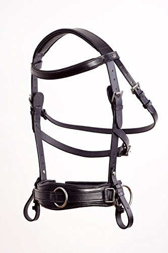 Kappzaum Royal Comfort Black Crownclub Warmblut WB FULL -