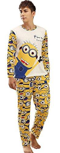 Qumei-Parejas-Minion-Establece-pijama-hombres-y-las-mujeres-dormir