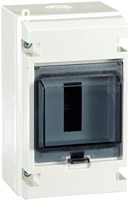 Unitec 47099 AP - FR - Kleinverteiler IP 55, grau 4 Module von Unitec auf Lampenhans.de