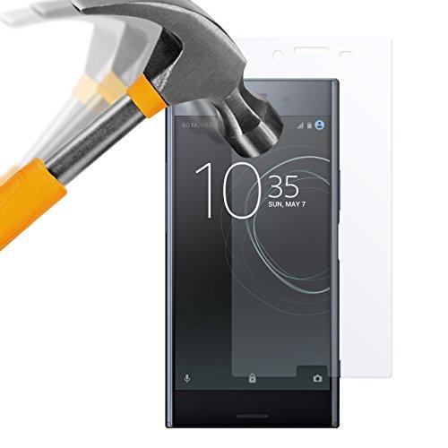 moodie Panzerglas Folie für Sony Xperia XZ Premium [2 Stück] Premium Glasfolie 9H Panzerglasfolie für Sony Xperia XZ Premium