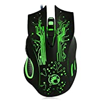 2400DPI Optical LED Mouse 6D USB Wired Gaming Game Mouse For PC Laptop Game Mice