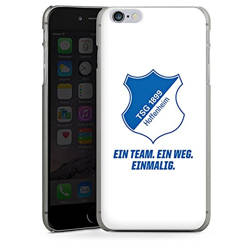 Apple iPhone 5c Hülle Case Handyhülle TSG Hoffenheim Fanartikel Fussball Hard Case anthrazit-klar
