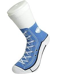 Bluw Silly Sock Sneaker (Blue), UK 5-11, EU 37-45