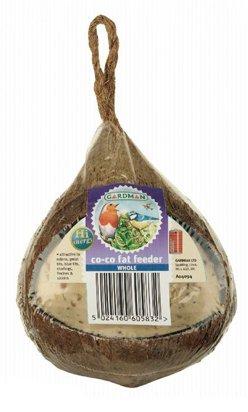 Gardman ganze Kokosnuss Fett-Futterspender Coco Fett