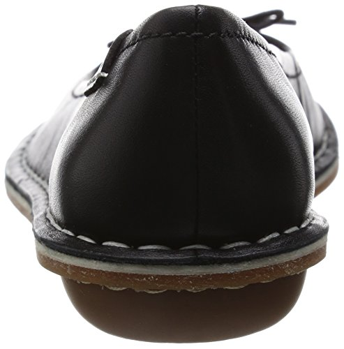Clarks Tustin Talulah, Mocassins Femme Noir (Black Leather)