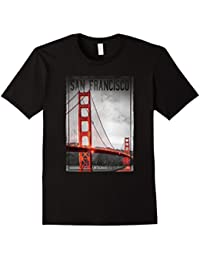 Vintage San Fransico Golden Gate Bridge T-shirt Women Men