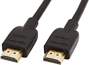 AmazonBasics High-Speed HDMI CL3 Cable - 6 Feet (Latest Standard)