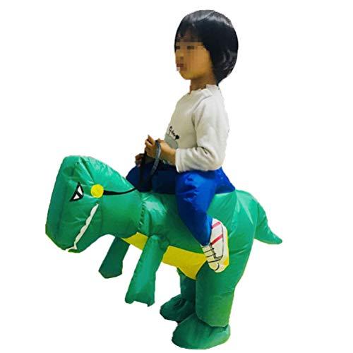 YeahiBaby Aufblasbare Kostüme Dinosaurier für Kinder Halloween Party Cosplay ()