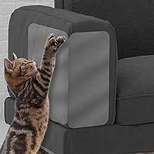 Alley.L 4 Unids/Set Cat Funda de sofá de plástico (Juego de