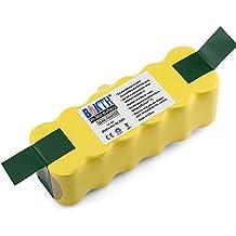 BAKTH 14.4V 3000mAh Ni-MH batería de repuesto para iRobot Roomba 500 600 700 800 de la serie 510 530 531 532 533 534 535 540 545 550 552 560 562 570 580 581 582 585 595 620 630 650 660 760 770 780 790 870 880 R3 80501 4419696