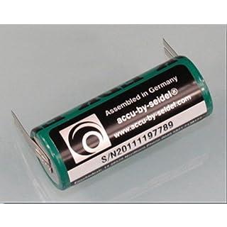 Ersatz-Akku (OB27) für elektrische Zahnbürste für Braun Oral B Triumph 5000 Serie -NiMH - Leistung: 2700mAh Höhe/ Ø: 50 / 17 mm - BITTE PRODUKTBESCHREIBUNG u. ABMESSSUNGEN BEACHTEN!
