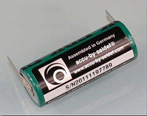 Ersatz-Akku (OB27) für elektrische Zahnbürste für Braun Oral B Triumph 5000 Serie -NiMH - Leistung: 2700mAh Höhe/ Ø: 50 / 17 mm - BITTE PRODUKTBESCHREIBUNG u. ABMESSSUNGEN