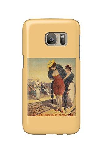 societe-des-engins-de-sauvetage-vintage-poster-artist-redon-georges-c-1890-galaxy-s7-cell-phone-case