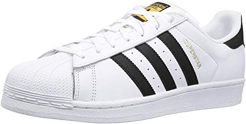 adidas Unisex-Erwachsene Superstar Low-Top, Weiß (Ftwr White/Core Black/Ftwr White), 40 EU