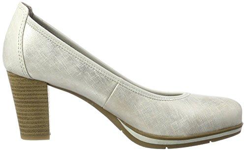 Jana 22408, Escarpins Femme Argent (Silver Pat Str 914)
