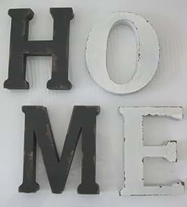 gro e metall buchstaben dekoration aufsteller wanddeko. Black Bedroom Furniture Sets. Home Design Ideas