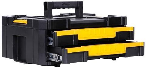 DeWalt DWST1-70706 DWST1-70706: Transportbox mit 2 Schubladen TSTAK Box IV
