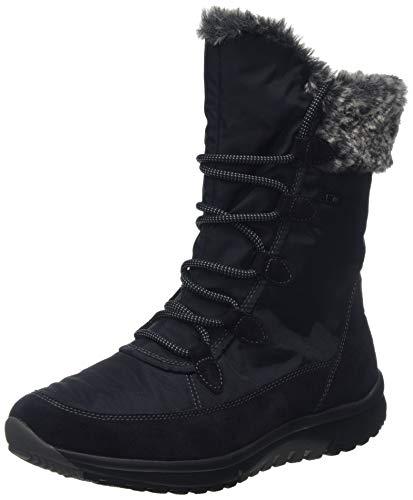 Gabor Shoes Damen Rollingsoft Hohe Stiefel, Blau (Nightblue (Mel.) 46), 37 EU