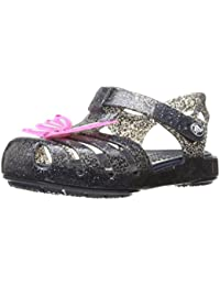 crocs Isabella Novelty Girls Sandal in Blue