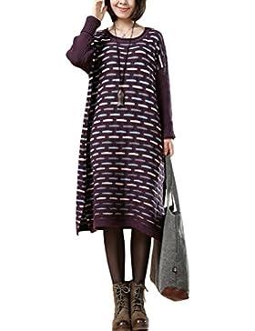 Vogstyle de las Mujeres Otoño / Invierno de Suéter Vestido